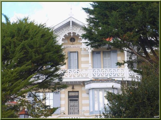 La villa Trocadero en Ville d'Hiver à Arcachon