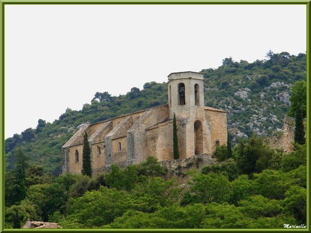 La collégiale Notre-Dame d'Alidon, village Oppède-le-Vieux, Lubéron (84)