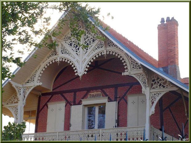 La villa Toledo en Ville d'Hiver à Arcachon