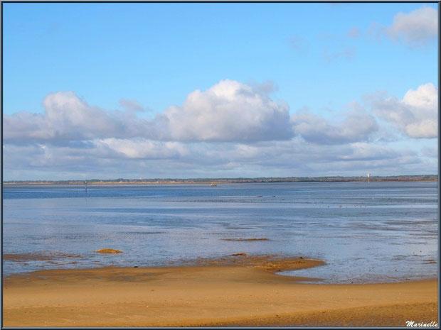 La plage et le Bassin, Sentier du Littoral, secteur Moulin de Cantarrane, Bassin d'Arcachon
