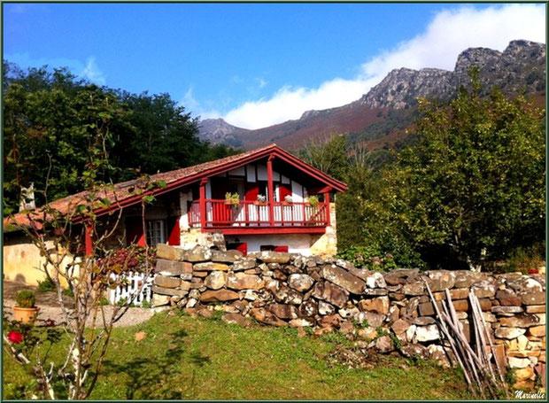Maison basque à Sare, Pays Basque français
