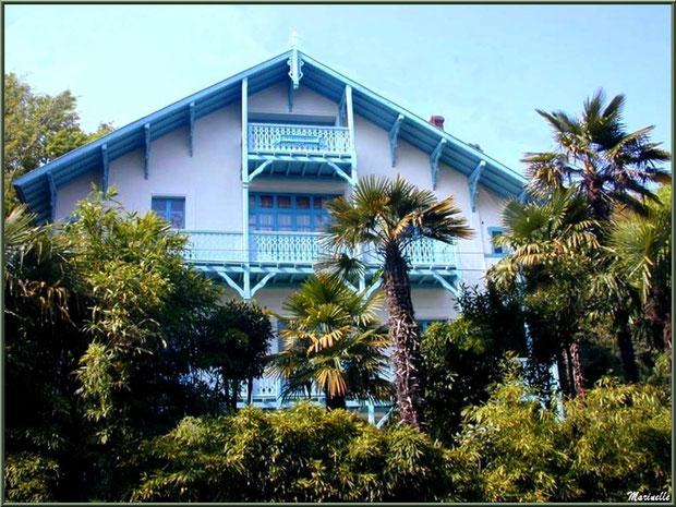 La villa Marguerite en Ville d'Hiver à Arcachon