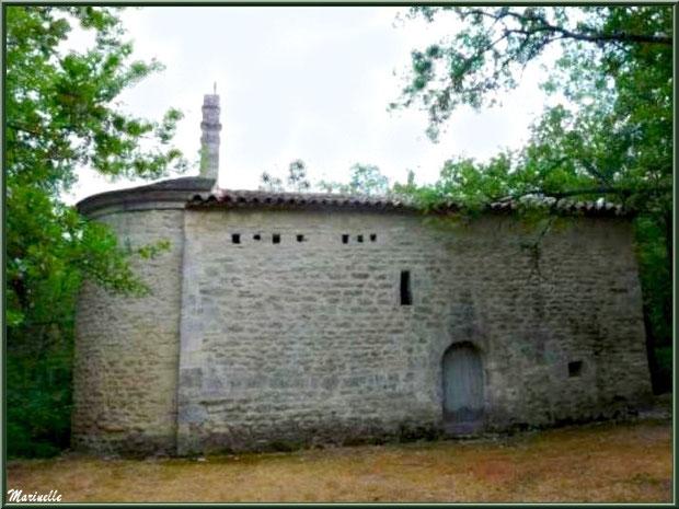Chapelle Saint Véran, mur Nord avec trous d'encrage - Goult, Lubéron - Vaucluse (84)