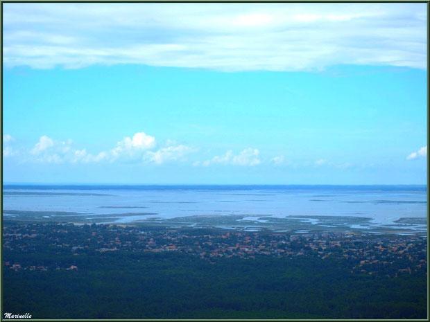 La Teste et le Bassin, Bassin d'Arcachon vu du ciel (33)