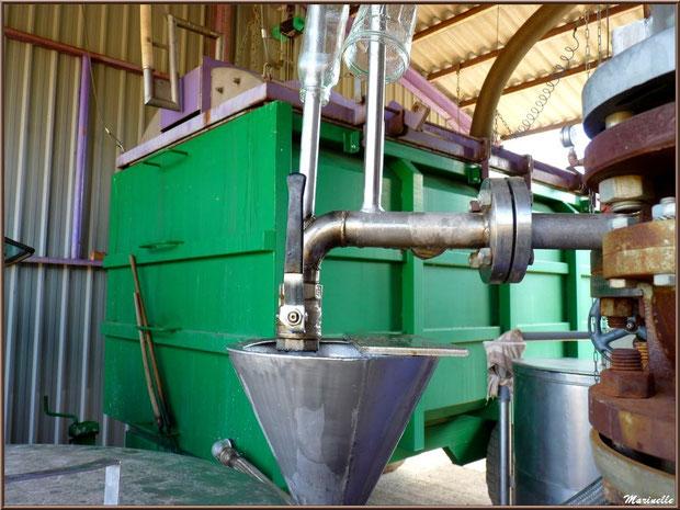 """Extraction en caisson dit """"vert broyé"""""""
