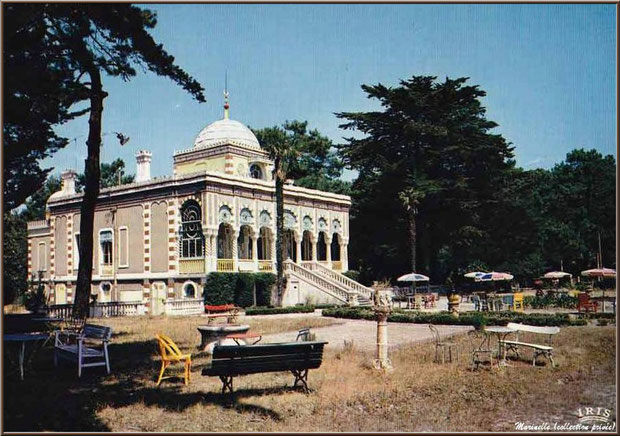 La Villa Algérienne, Village de L'Herbe, Bassin d'Arcachon (carte postale ancienne, collection privée)