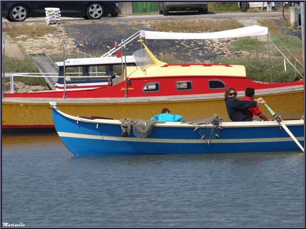 Pinassote revenant de la pêche à la sardine - Fête du Retour de la Pêche à la Sardine 2014 à Gujan-Mestras, Bassin d'Arcachon (33)
