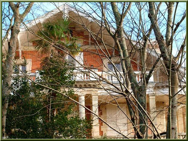 La villa Craigcostan en Ville d'Hiver à Arcachon