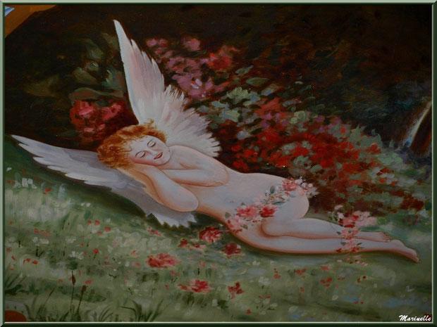 Fresque ange, plafond