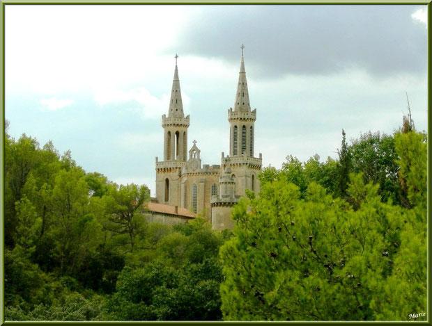 Abbaye Saint Michel de Frigolet dans La Montagnette, Bouches du Rhône