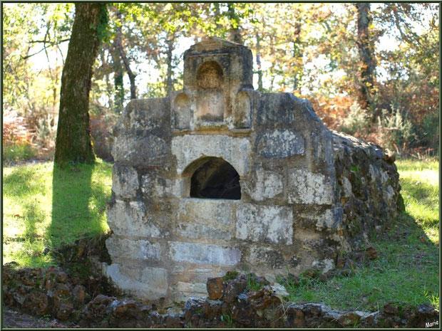 La Fontaine Saint Jean à Lamothe, Commune du Teich, Bassin d'Arcachon