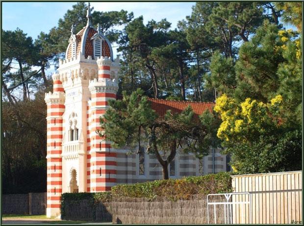 Chapelle Villa Algérienne au Village de L'Herbe, Bassin d'Arcachon