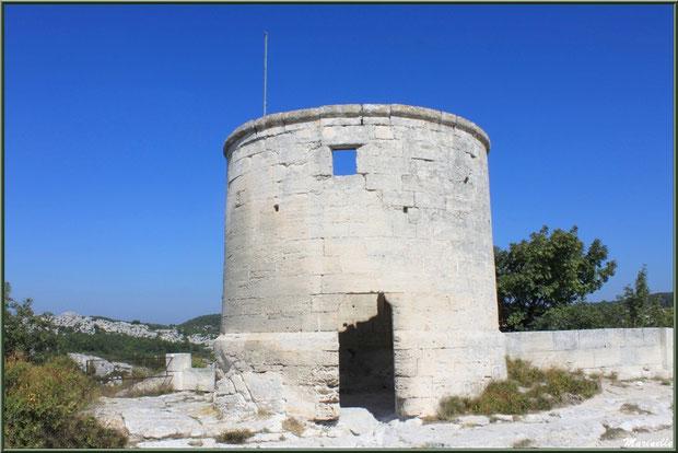 Moulin à vent, Château des Baux-de-Provence, Alpilles (13)