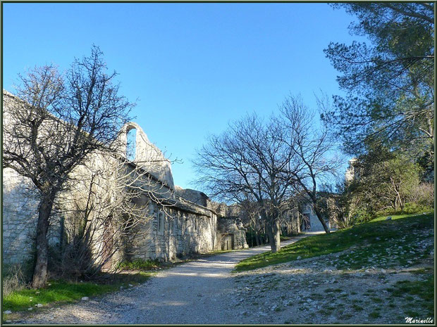 La chapelle Saint Laurent au village d'Eygalières dans les Alpilles, Bouches du Rhône