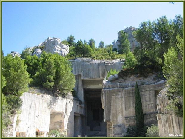 Les Carrières de Lumière (Cathédrale d'Images) au coeur du Val d'Enfer, Baux-de-Provence, Alpille (13)