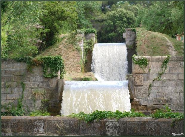 Le Canal des Alpilles à l'entrée de Saint Rémy de Provence, Bouches du Rhône