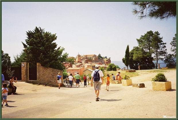 Le village de Roussillon, Lubéron (84)