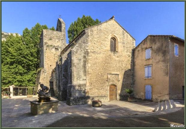 Eglise Saint Véran, Fontaine de Vaucluse, Pays de La Sorgue, Vaucluse (84)