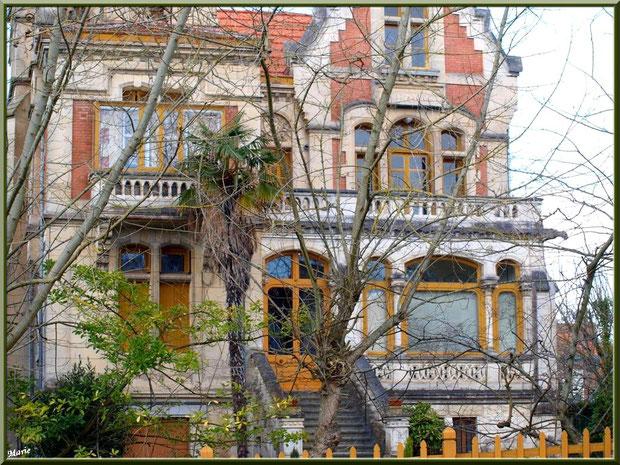 La villa Giroflé en Ville d'Hiver à Arcachon