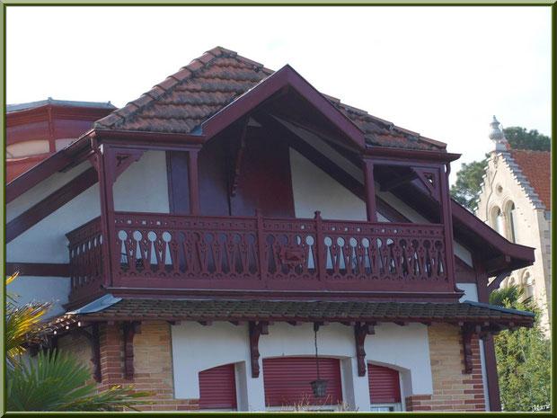 La villa Antonia en Ville d'Hiver à Arcachon