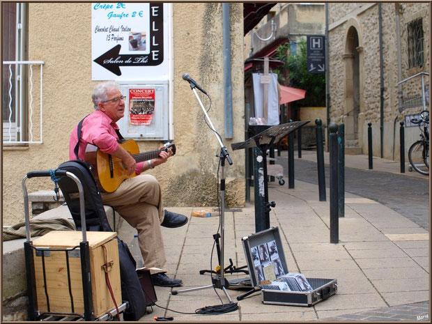 chanteur des rues Vaison La Romaine
