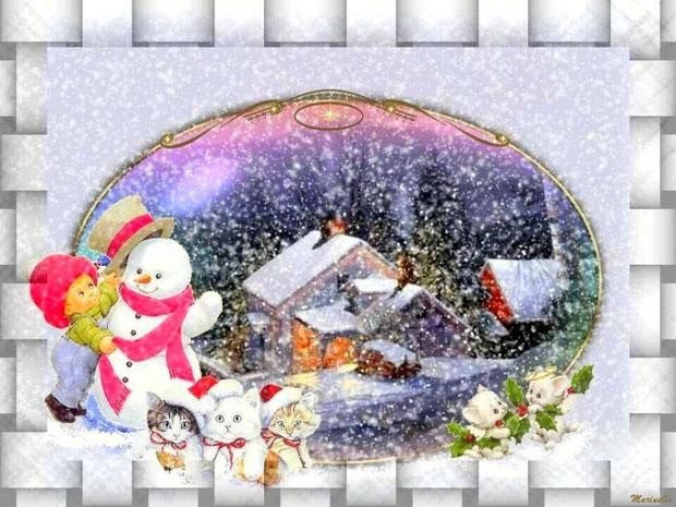 Tout le monde attend Noël !