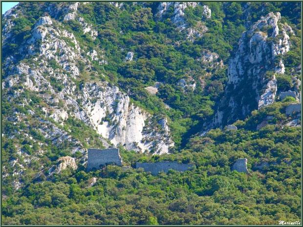 Les ruines de l'ancien château de Romanin à Saint Rémy de Provence, Alpilles (13)