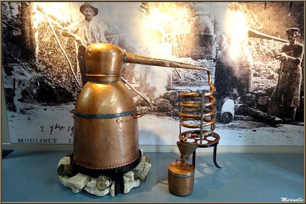 """Le """"Musée de la Lavande"""" à Coustellet (84) : alambic a feu nu"""