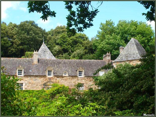 Le Manoir - Les Jardins du Kerdalo à Trédarzec, Côtes d'Armor (22)