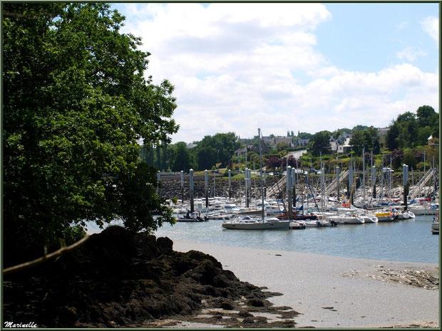 Le sentier de la Vallée du Bas à son extrémité avec la rivière Le Jaudy - Les Jardins du Kerdalo à Trédarzec, Côtes d'Armor (22)