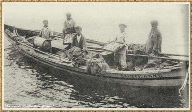 Pinassote de retour de la pêche à la sardine, Bassin d'Arcachon (33)