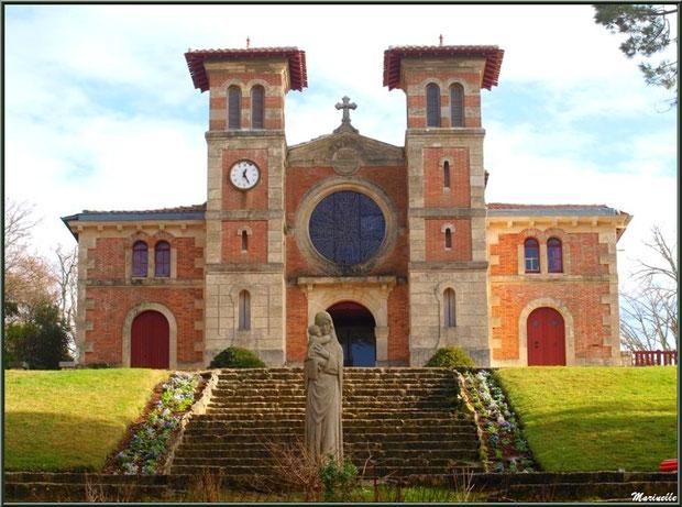 L'église Notre-Dame des Passes au Moulleau à Arcachon, Bassin d'Arcachon