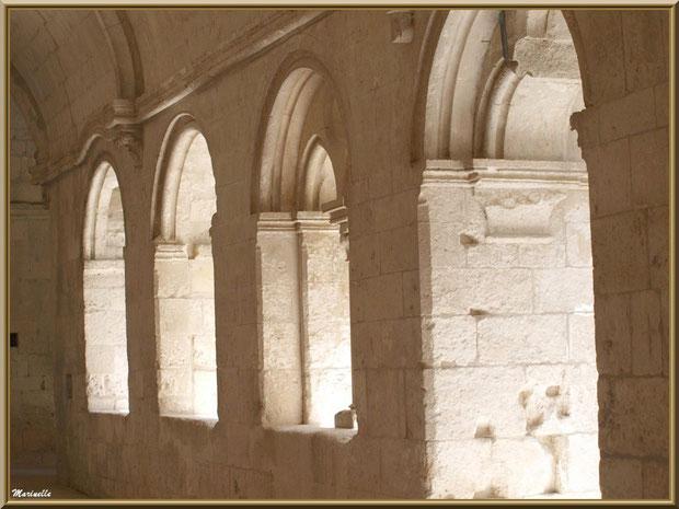 Le cloître de l'abbaye de Silvacane, Vallée de la Basse Durance (13)