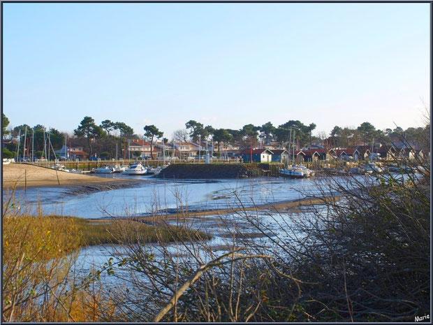 Port et plage de La Hume à Gujan-Mestras Bassin d'Arcachon