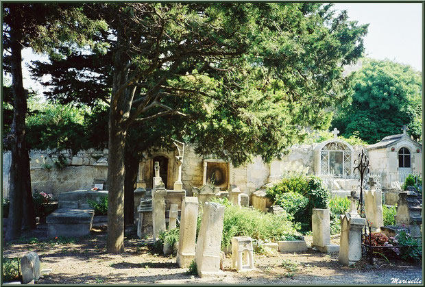 Le cimetière, Château des Baux-de-Provence, Alpilles (13)