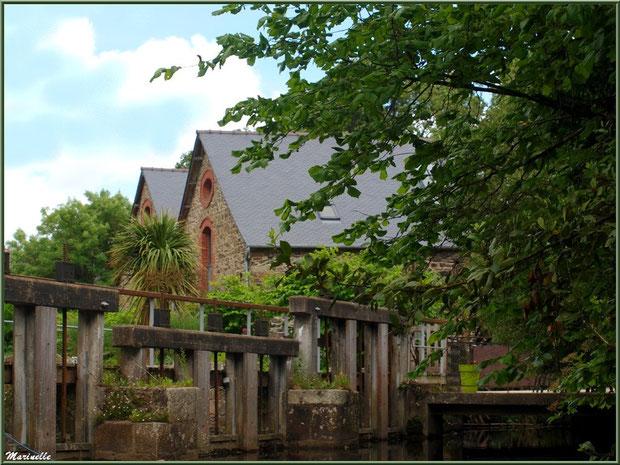 Le Moulin de Richel et ses écluses sur Le Trieux à Pontrieux, Côte d'Armor (22)