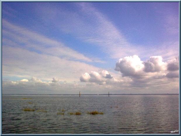 Lever du jour sur le Bassin d'Arcachon depuis le Port du Canal à Gujan-Mestras