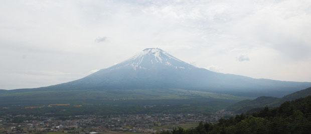 富士山がよく見えた
