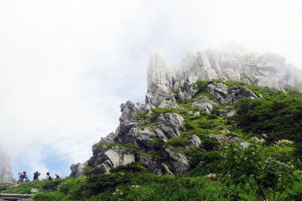 千畳敷カールの風景