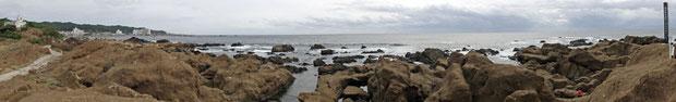岬の風景  クリックすると別ウインドウでスクロールします