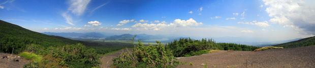 周辺の景色のパノラマ写真