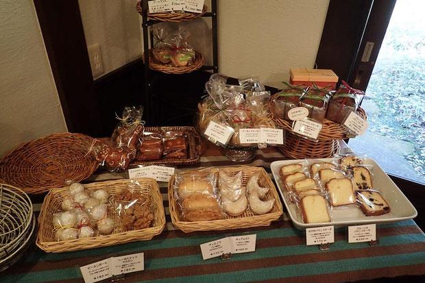 クッキーなどの焼き菓子の種類は多い