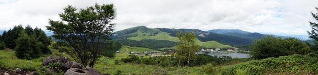 清々しい高原の風景