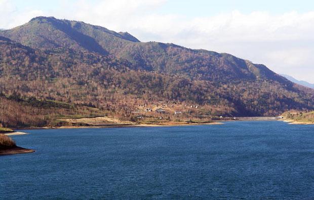 野反湖の風景