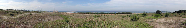 海岸の風景。 クリックすると別ウインドウが開き、拡大表示・スクロールします。