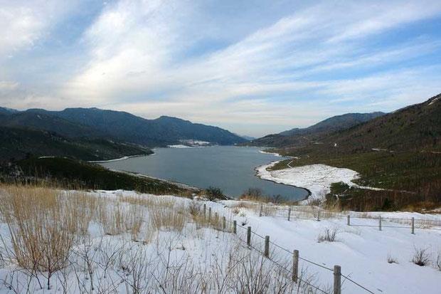 冬の野反湖  2006.12.16