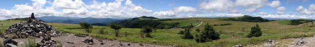 牛伏山からの風景