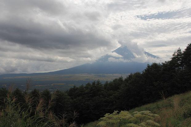 ここは富士山の撮影ポイントなのかも知れない