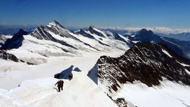 Gipfelgrat Mönch