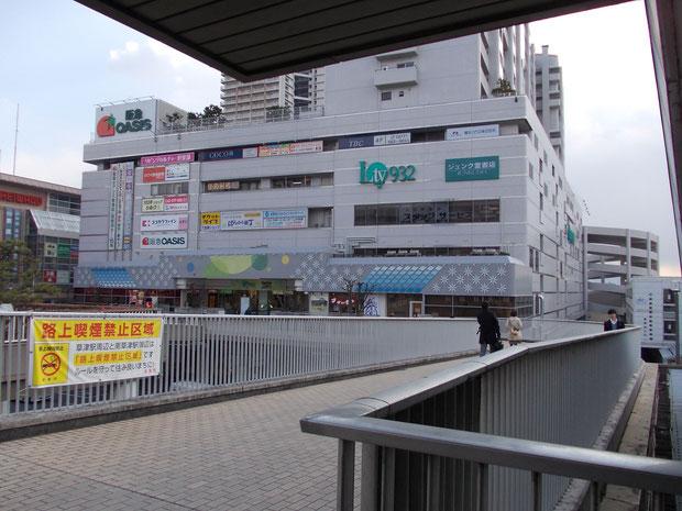 草津駅東口を出て右手に見えるのが、エルティ932(くさつ)です。